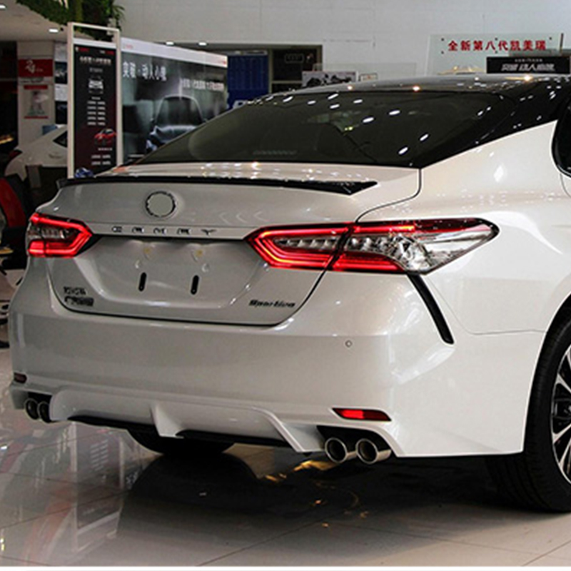 Car Styling Tail Lights For Toyota Camry 2018 Taillights LED DRL Running Lights Fog Lights Angel Eyes Rear Parking Lights