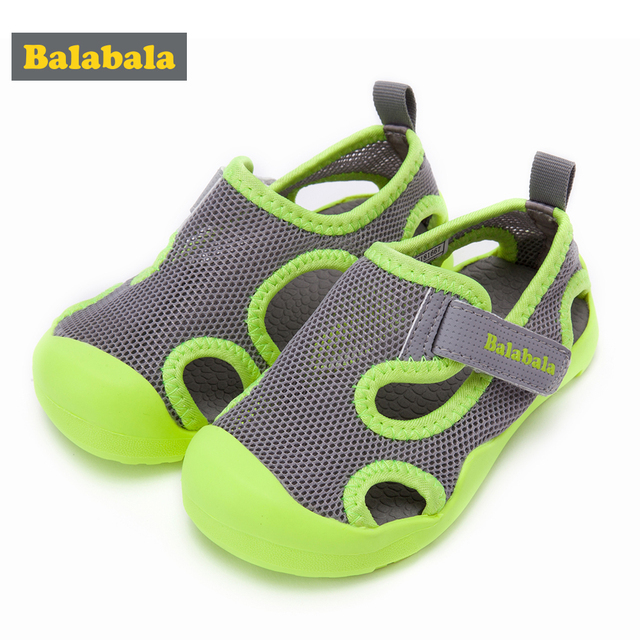 Balabala summer beach kids shoes Flats Breathable sandals for boys and girls designer toddler sandals for 4 - 15 years old kids