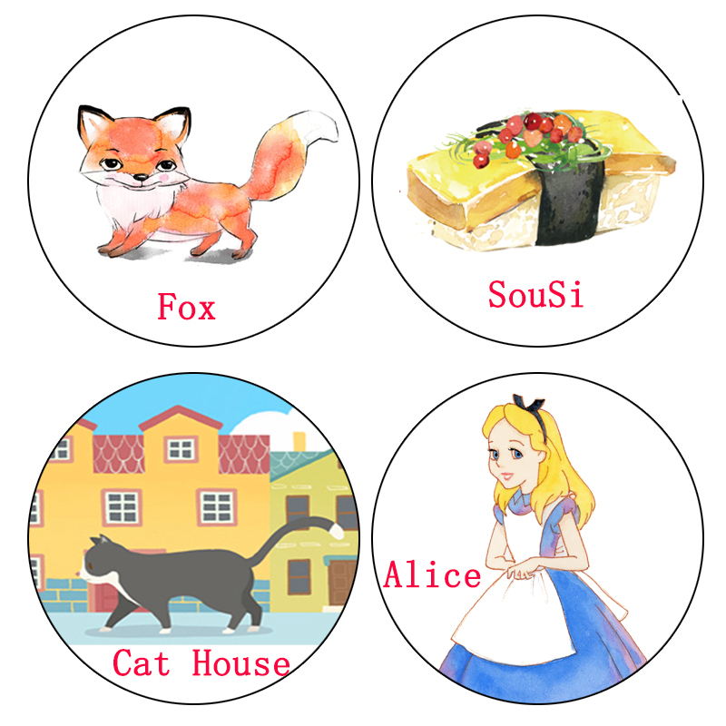 1 pcs Alideco Washi Tapes Alice Fox Cat SouSi Masking Tapes Decorative Adhesive DIY Paper Scrapbooking Stickers 10 pcs washi masking tapes cute girls flower aircraft decorative adhesive scrapbooking diy paper japanese stickers