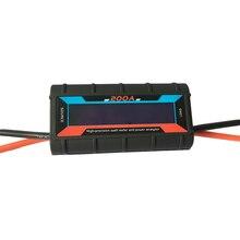 0-60V 0-200A ЖК-дисплей Ватт метр и анализатор мощности прецизионный RC измеритель мощности инструмент