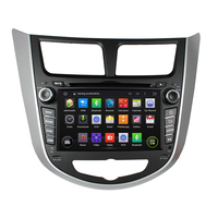 7 Android Car DVD Player with BT GPS 3G WIFI,Car PC/multimedia Audio/Radio/Stereo for Hyundai verna accent solaris 2011 2012