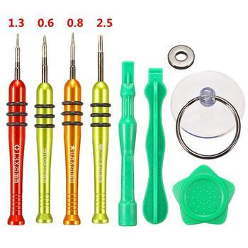 цена на 9 In 1 Repair Tool Kit Screwdriver Opening Pry Tools For iPhone 7/7 Plus