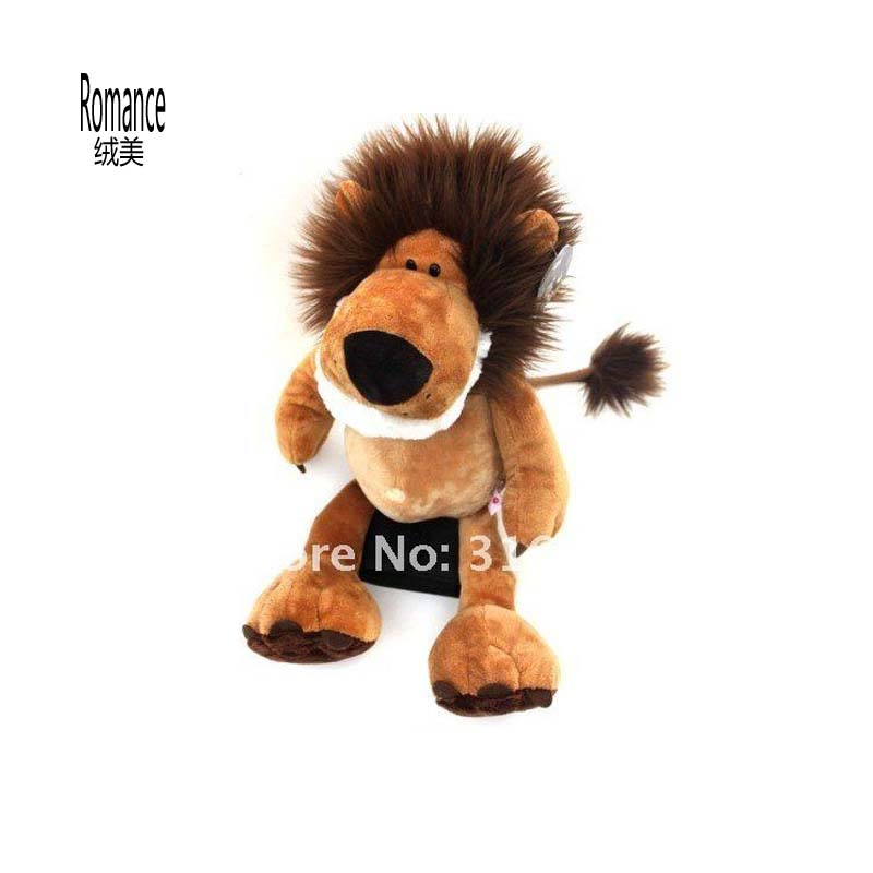 75cm The jungle series Africa lion plush toy soft stuffed toy Christmas gift stuffed animal jungle lion 80cm plush toy soft doll toy w56