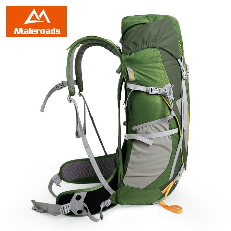 Top qualité Maleroads 50L Camping randonnée sac à dos hommes femmes voyage sac à dos Sport de plein air sac à dos escalade Trekking sac à dos - 2