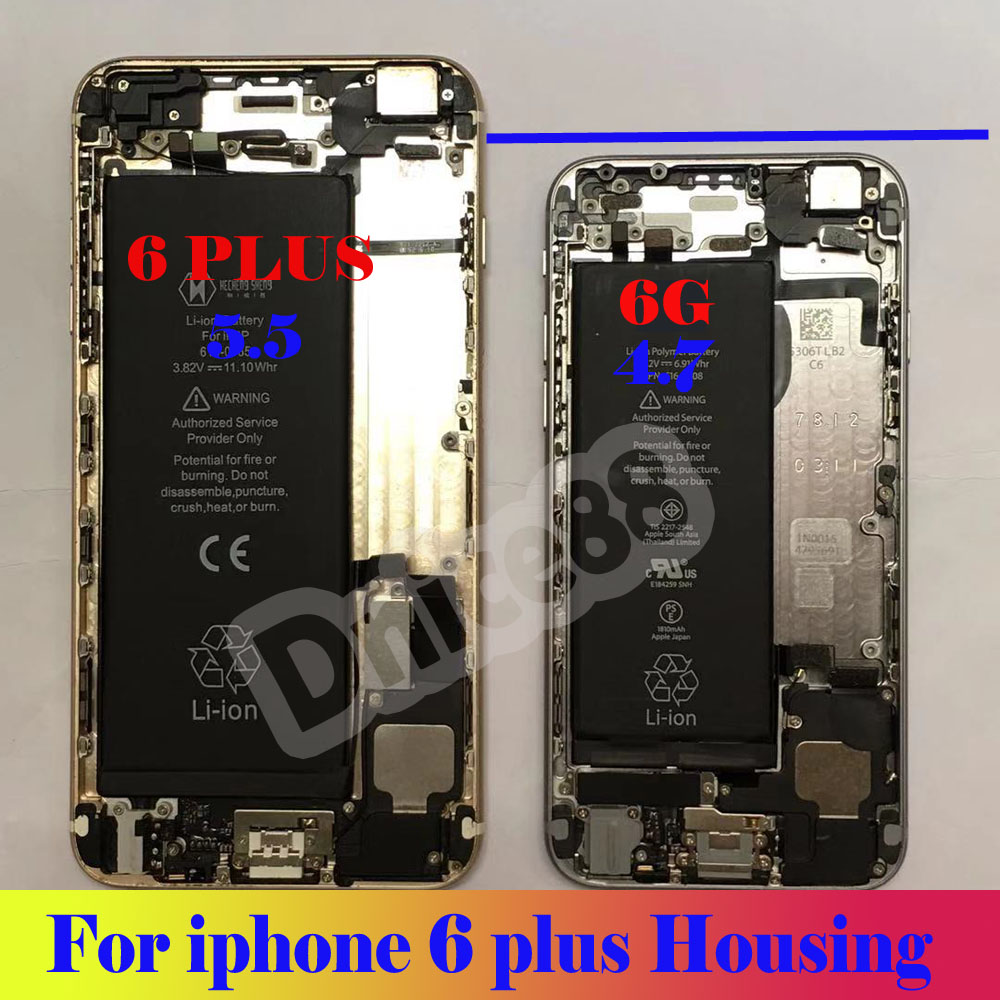 For iphone 6 plus 5.5 Original mobile phone housing ,good quality housing including all original partsFor iphone 6 plus 5.5 Original mobile phone housing ,good quality housing including all original parts