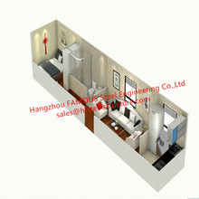 NZ/AU Standard Salable Mobile Living Tiny Container House Wi