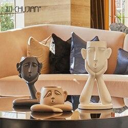GAOBEI Moderna statue sono semplici e figure astratte, ornamenti, personalità sculture, decorazioni per la casa, portico arredamento