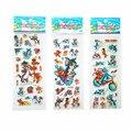 3 Unids/lote Mezclado Pegatinas de Burbuja de Dibujos Animados Tom y Jerry Niños infantil Chicos chicas de Dibujos Animados Pegatinas de Decoración de regalo de cumpleaños para