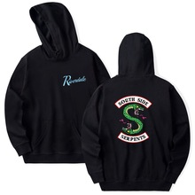 Riverdale Hoodie Sweatshirts Plus Size South Side Serpents Streetwear Tops Sprin