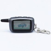 Versión rusa Remoto LCD de starline Twage A9 A9 coche de control remoto de dos vías sistema de alarma del coche del envío libre