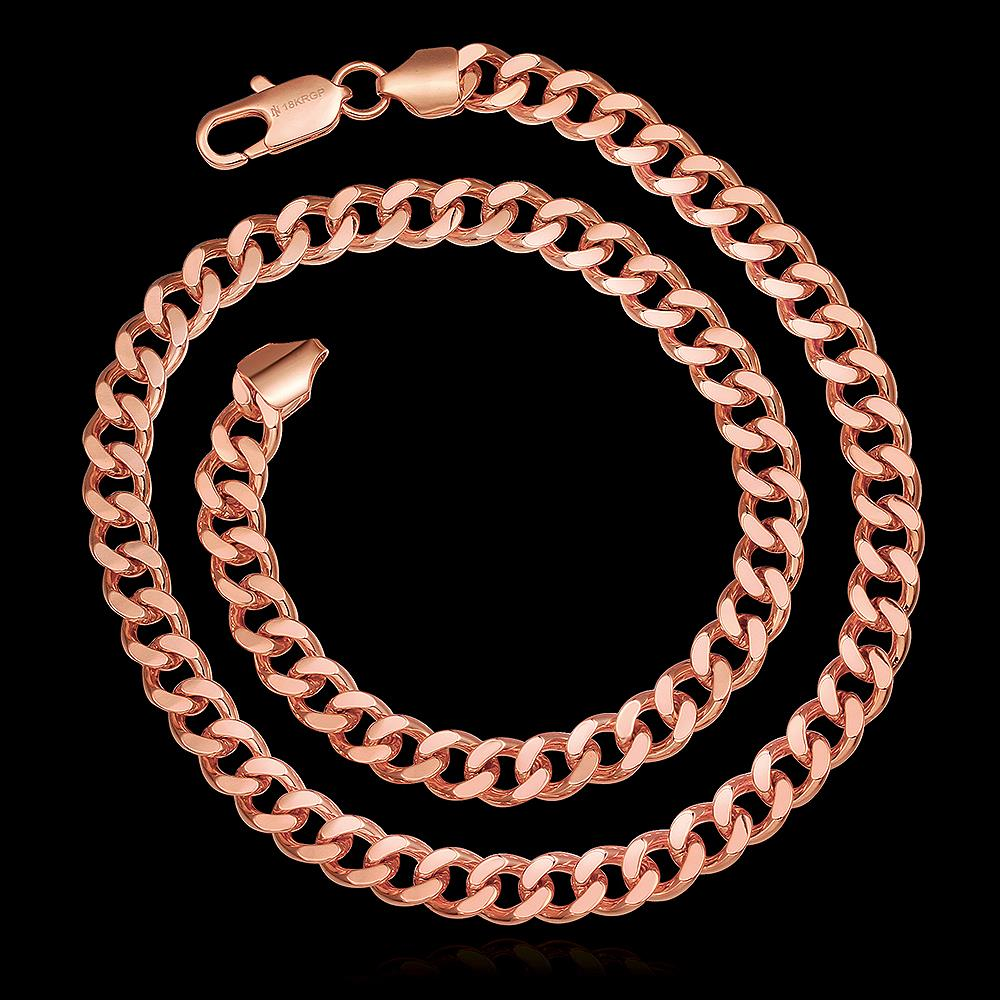 Gold Cuban Chain for Men Women With