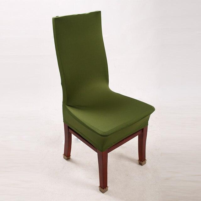 Verde silla Lycra Spandex estiramiento silla para cocina sala nueva ...