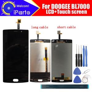 Image 1 - 5.5 inç DOOGEE BL7000 LCD ekran + dokunmatik ekranlı sayısallaştırıcı grup 100% orijinal yeni LCD + dokunmatik Digitizer için BL7000 + araçları