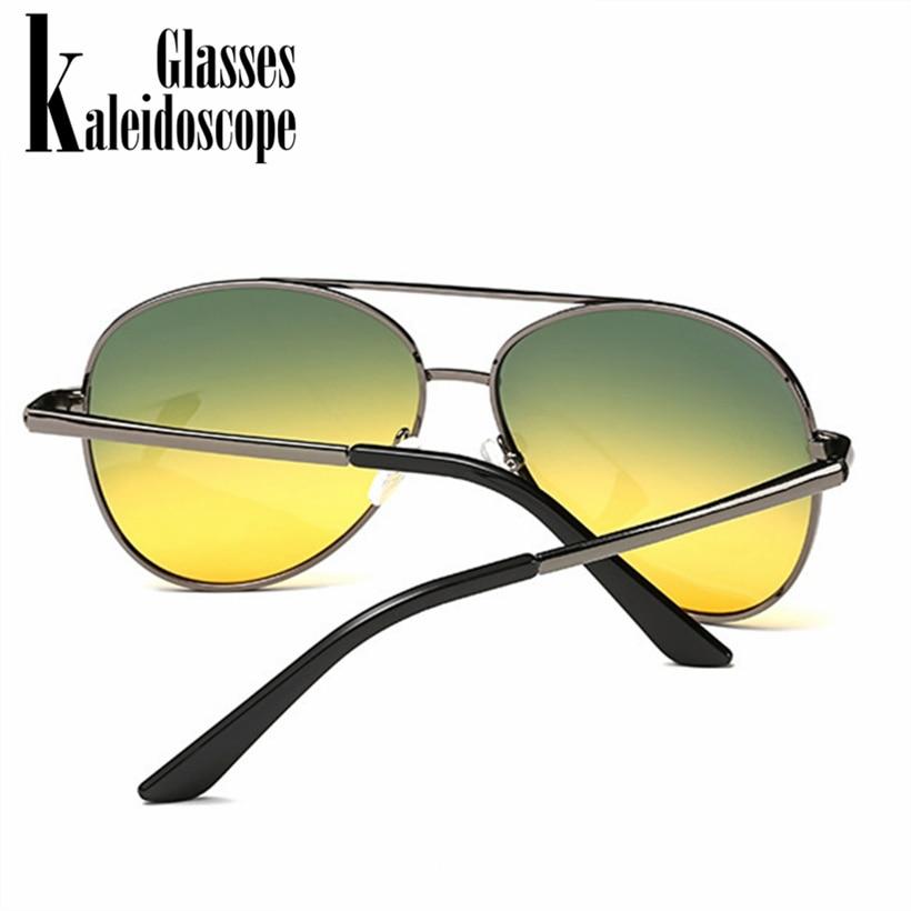 5576b51079 Kaleidoscope Glasses Classic Pilot Day Night Vision HD Sunglasses Men Women  Goggles Glasses Driver Night Driving Sun Glasses-in Sunglasses from Apparel  ...