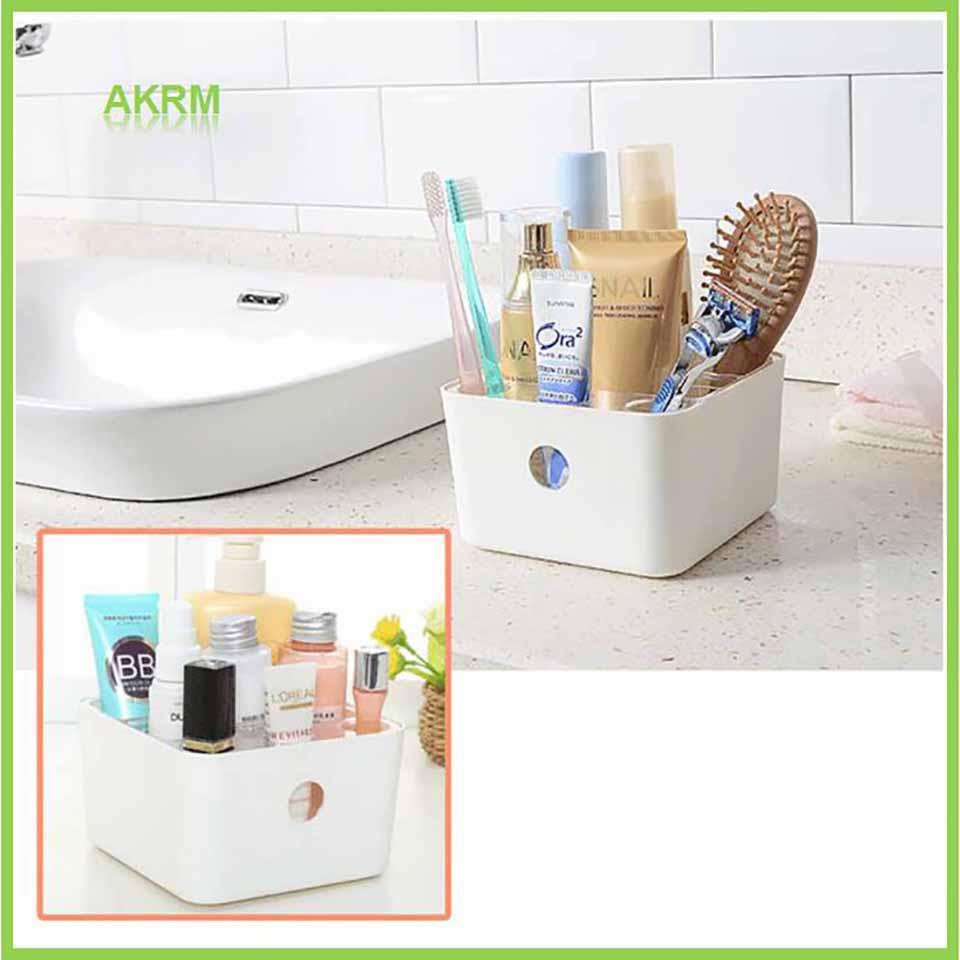 Storage Boxes Bathroom: In Stock Plastic Storage Box Jewelry Makeup Organizer