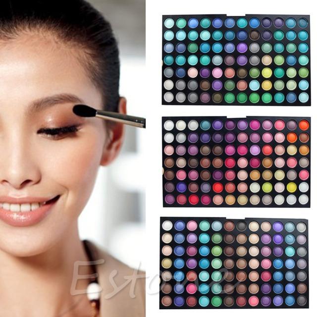 Festa de 252 Cores da Sombra do Olho Cosméticos Shimmer Matte Maquiagem Sombra Palette Set