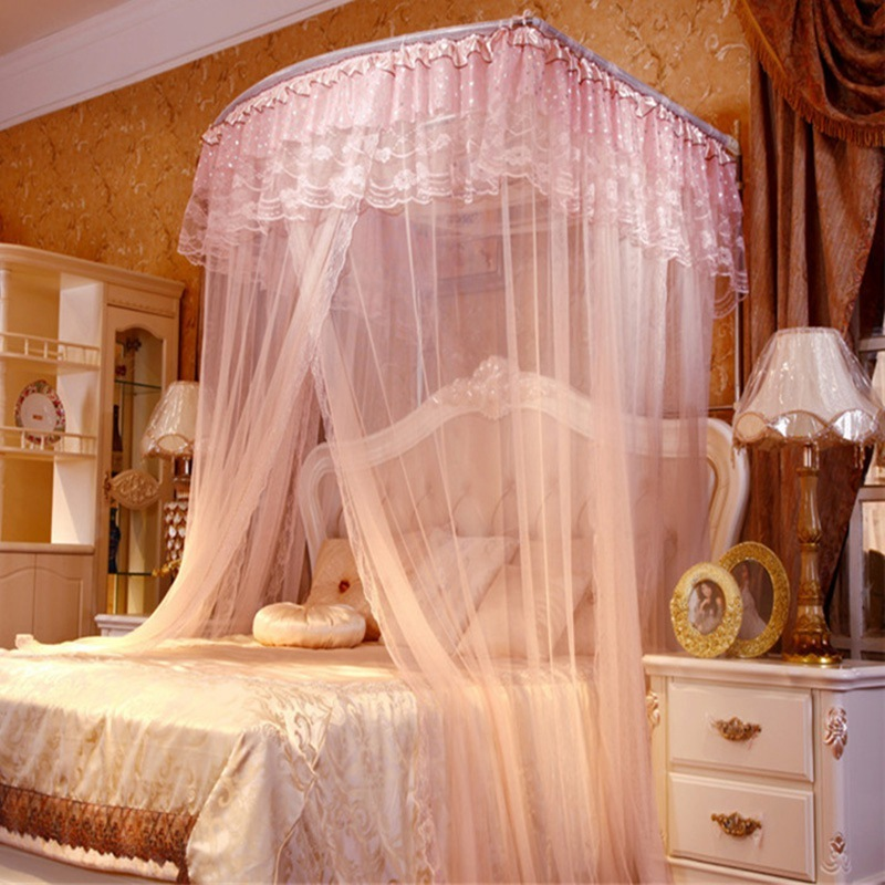 Bed Canopies For Adults Part - 41: Online Shop 2017 New Sale High Quality Home Textile Palace Mosquito Net  Three Door Bed Canopies Adults Canopy Netting Curtain For Bedding |  Aliexpress ...