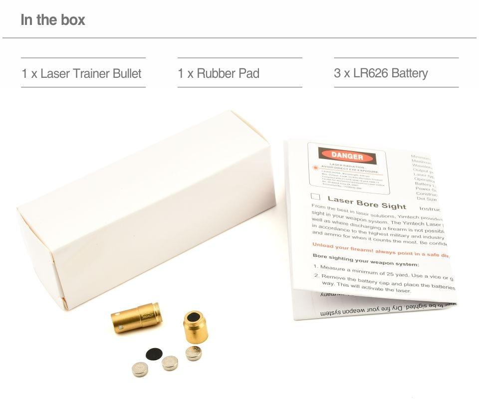 4th Laser Bullet LTB380