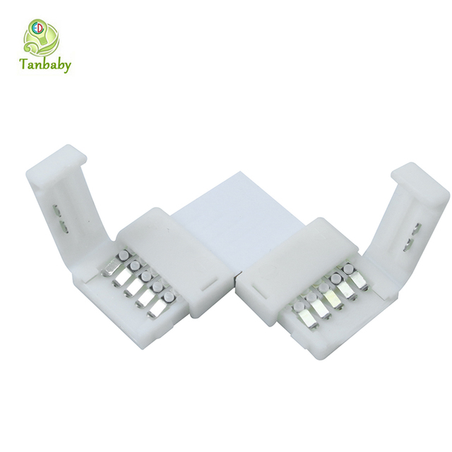 Tanbaby 5pcs RGBW 5 channel 5050 LED Connector LED Strip Light ...