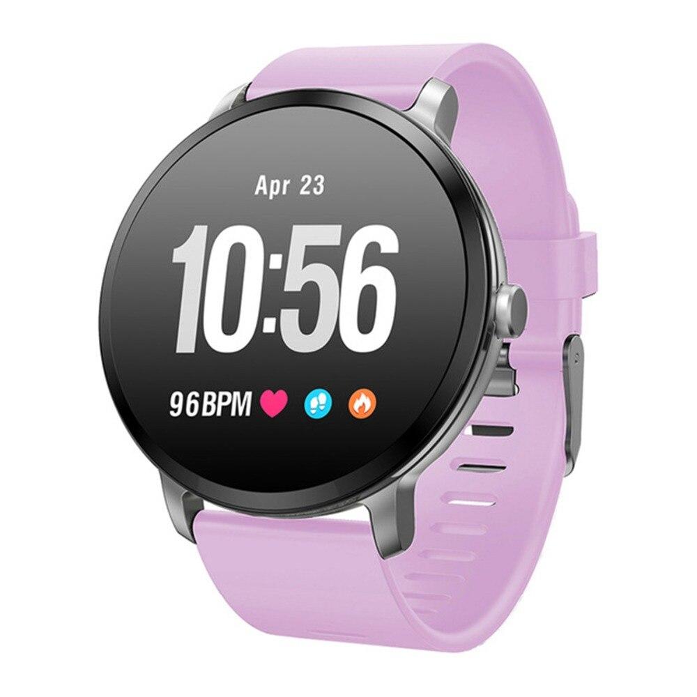 SOONHUA V11 étanche sport Smartwatch Messages appels rappel pour téléphone fréquence cardiaque pression artérielle moniteur de sommeil montre intelligente
