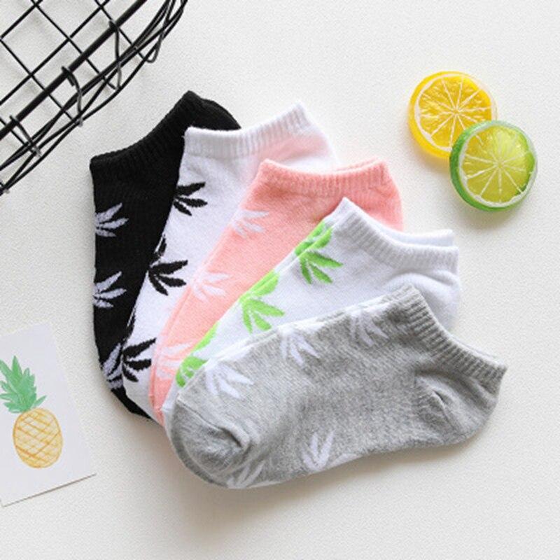 Spring Summer Thin Socks Female Korean Cartoon Cute Boat Sock Women Short Tube Cotton Socks Invisible