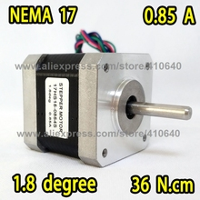 FREE SHIPPING Stepper Motor 17HS15-0854S L 39 mm Nema17 with 1.8 deg 0.85 A 36 N.cm and 4 lead wires LOW FACTORY PRICE!