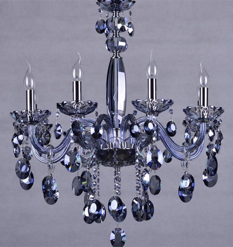 Blue 6 8 Pcs Kitchen Lighting Led Chandelier For Dining