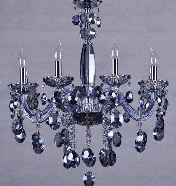 Blue 6 8 pcs kitchen lighting led chandelier for dining room bar blue 6 8 pcs kitchen lighting led chandelier for dining room bar blue glass chandelier aloadofball Images
