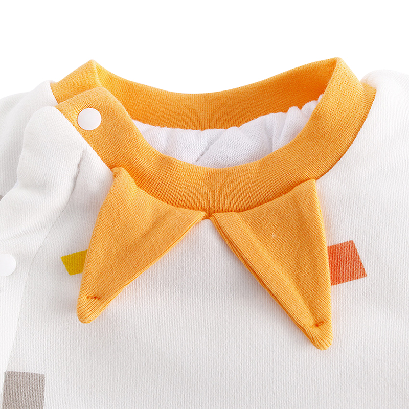 44e0e8d9c6e Details of Unisex Baby Jumpsuit Autumn Winter Girl Boy Rompers Lovely Long  Sleeves Kids Clothing O Neck Cotton Infant Overalls With Pocket click image.