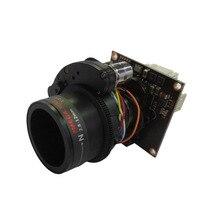HD 4в1 AHD/TVI/CVI/CVBS 1/2. 9 «SONY IMX323 2mp Низкое освещение CMOS модуль hd-камеры 2,8 мм-12 мм Электрический зум OSD меню кабель
