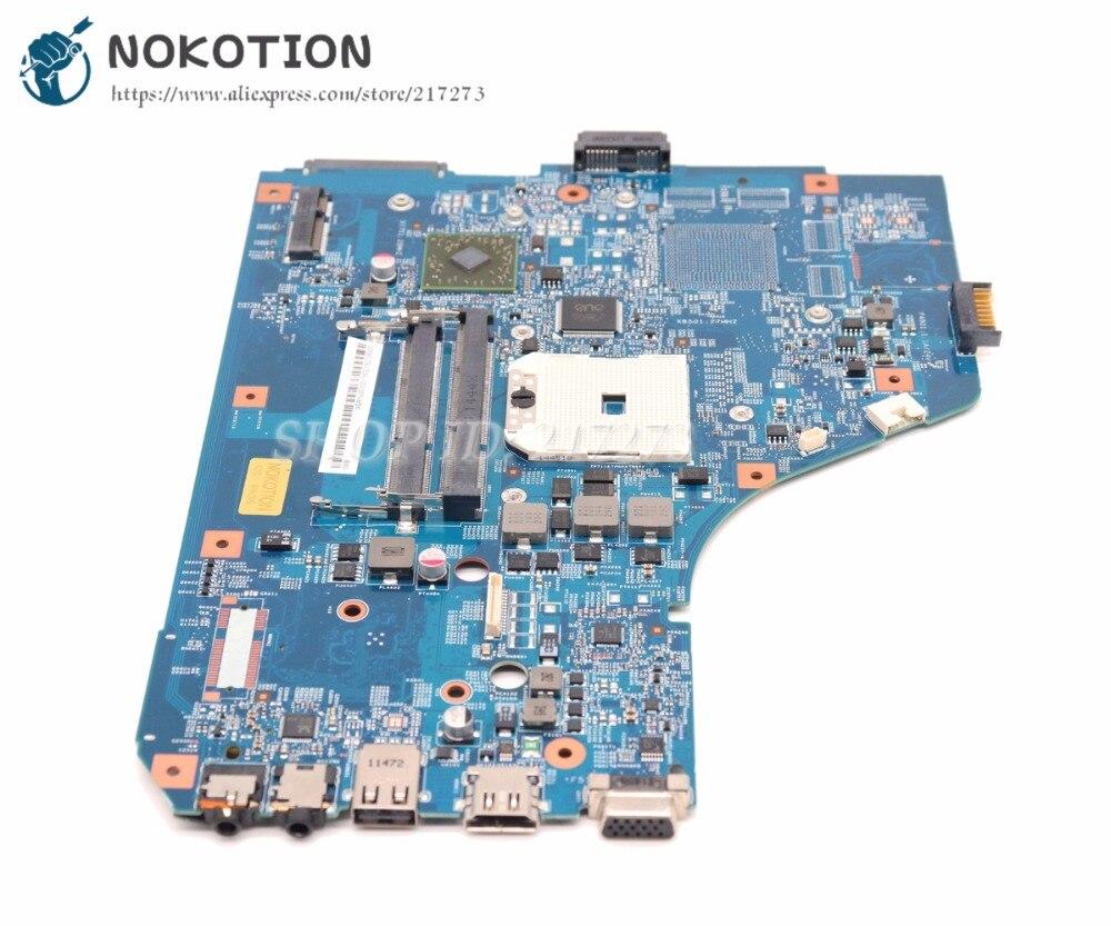 NOKOTION For Acer aspire 5560 5560G Laptop Motherboard MBRNW01001 48.4M702.011 System Board DDR3 Socket FS1 Test good