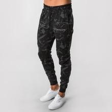 Pantalones de correr de camuflaje para hombre, pantalón de chándal para gimnasio, entrenamiento, pantalones ceñidos, Jogging, pantalones pitillo, novedad