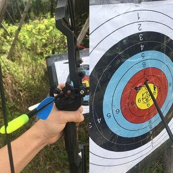 6/12 шт. 31 дюймов Стекловолоконная стрела позвоночника 800 с наконечником стрелы для стрельбы охоты блочный изогнутый лук для стрельбы из лука ...