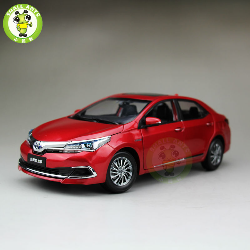 buy 1 18 toyota corolla hybrid premium diecast model car red from reliable. Black Bedroom Furniture Sets. Home Design Ideas