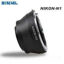 AI N1 كاميرا عدسة محول تركيب حلقة لنيكون F منظمة العفو الدولية عدسة ل نيكون 1 AW1 S1 J1 J2 J3 J4 J5 V1 V2 V3