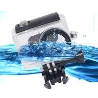 Mcoplus Underwater Waterproof Protective Housing Case For Xiaomi Xiaoyi Yi Action Camera White