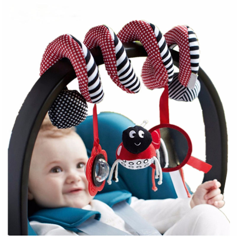 Cute Infant Babyplay Baby Toys Activity Spiral Bed & Stroller Toy Set Hanging Bell Crib Rattle Toys For BabyCute Infant Babyplay Baby Toys Activity Spiral Bed & Stroller Toy Set Hanging Bell Crib Rattle Toys For Baby