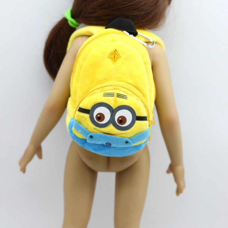 2019 Новое поступление Одежда для куклы американская девушка Аксессуары Рюкзак с мультяшным принтом для куклы 18 дюймов, комплект одежды для новорожденных из м/ф BJD/SD игрушка для малыша.