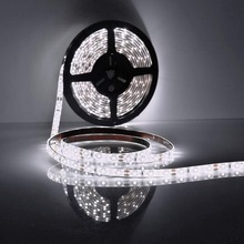 LED Strip Lights, Waterproof 5m 300 2835 SMD Light 6000K Cold White Fairy Lights Indoor Lighting f