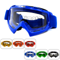 MG-001-BL Adult Motocross Goggles Motorcycle Bike Glasses Cross Country Flexible Clear Lens Ooculos de grau