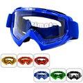 MG-001-BL Adultos Gafas de Motocross Bici de La Motocicleta Gafas de Esquí de fondo Flexible Lente Transparente Ooculos de grau