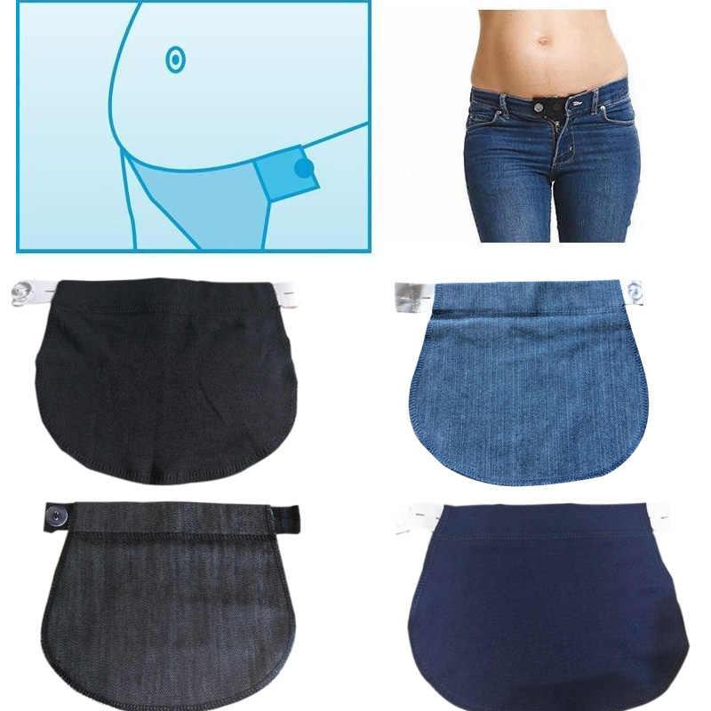 1pcs Maternity Pregnancy Waistband Belt Pants Extender