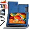 Высокое Качество Кожаный Чехол Чехол Для Lenovo Yoga tab 3 850F 850 М 850Л YT3-850F YT3-850M YT3-850L Tablet Магнитный стенд Флип крышка