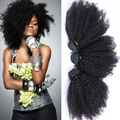 Kinky Curly Virgin Hair Extensions 3 Pieces Lot 7A Unprocessed Brazilian Virgin Hair Afro Kinky Curly Hair Extensions 100g/Piece