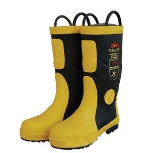 Пожарный Сапоги и ботинки для девочек противопожарное оборудование пожаротушения Сапоги и ботинки для девочек Детская безопасность резин