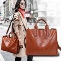 Mulheres Sacos De Marcas Famosas Bolsa De Couro Óleo de Cera de Couro Bolsa de Luxo marca Ombro Sacos de Mão Senhoras Femme Sac A Principal De Marque
