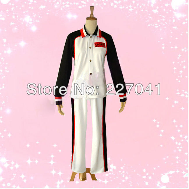 Kuroko no Basuke Seirin High School sports suit jersey costume cosplay