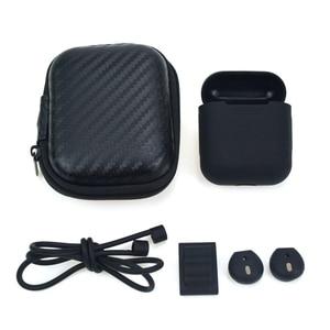 Image 2 - 5 w 1 schowek torba na słuchawki do etui airpods słuchawki douszne słuchawki Protector pokrywa dla apple airpods Case akcesoria