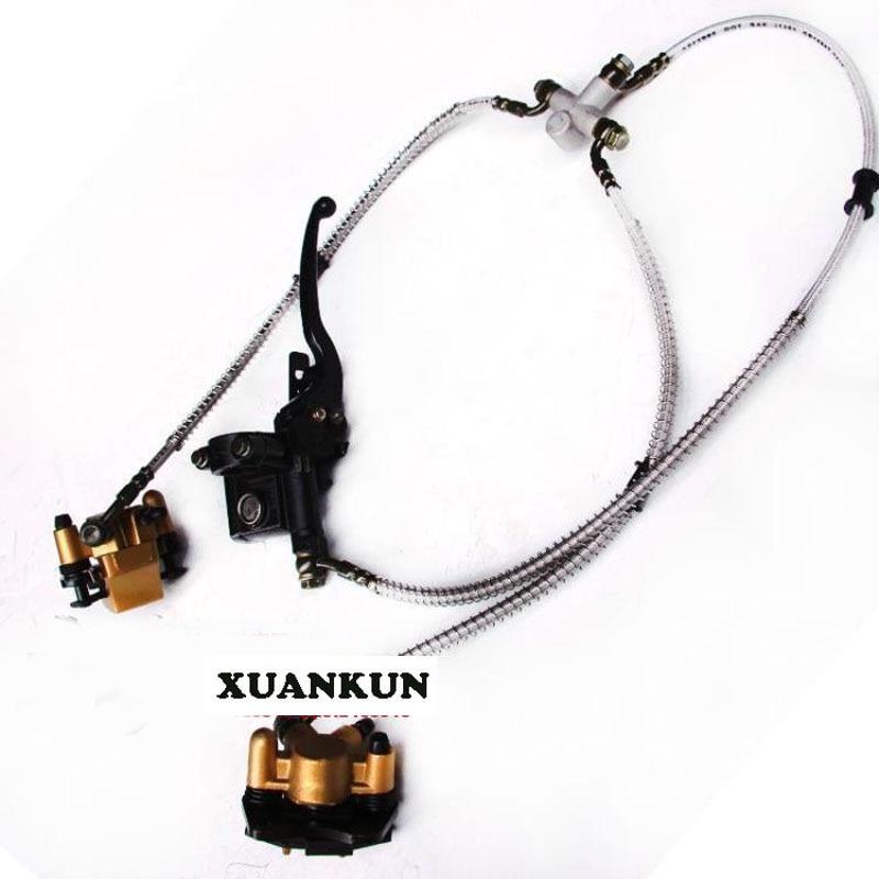 Пляжный автомобиль XUANKUN измененных частей перетащите два перед дисковые тормоза передние тормоза двух дисковый тормоз насос