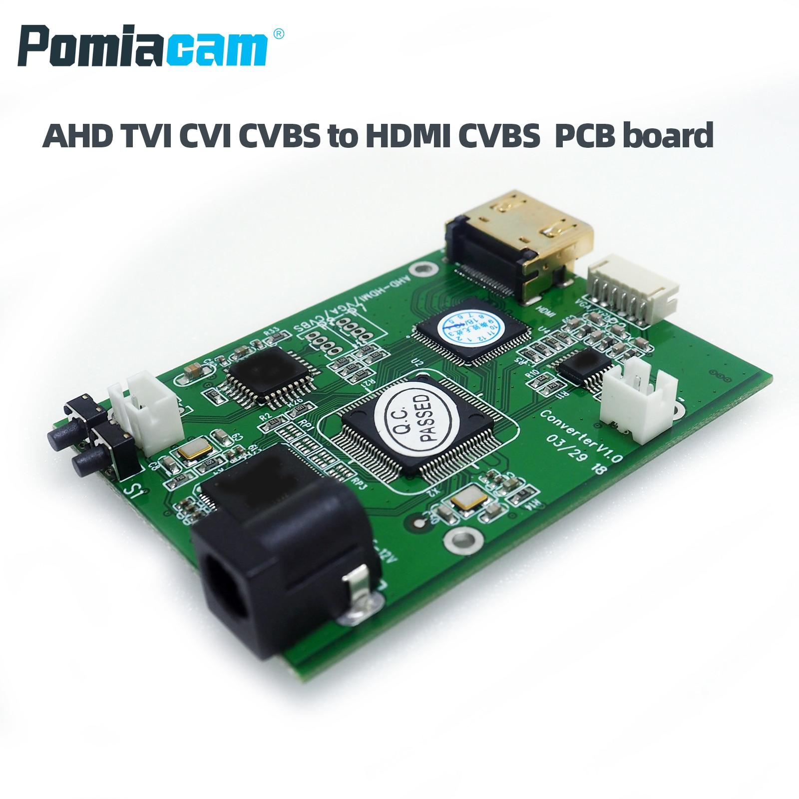 AHD41 AHD TVI CVI CVBS Signal To HDMI VGA CVBS Signal Convertor Board